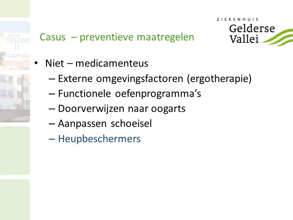 Casus – preventieve maatregelen