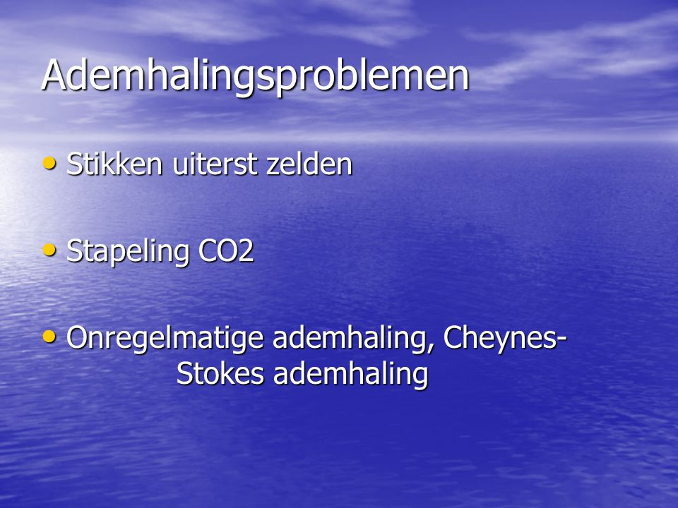 Ademhalingsproblemen