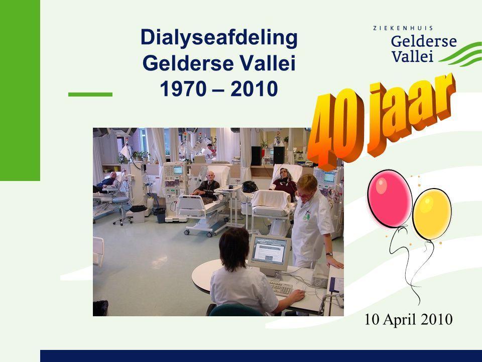 Dialyseafdeling Gelderse Vallei 1970 – 2010