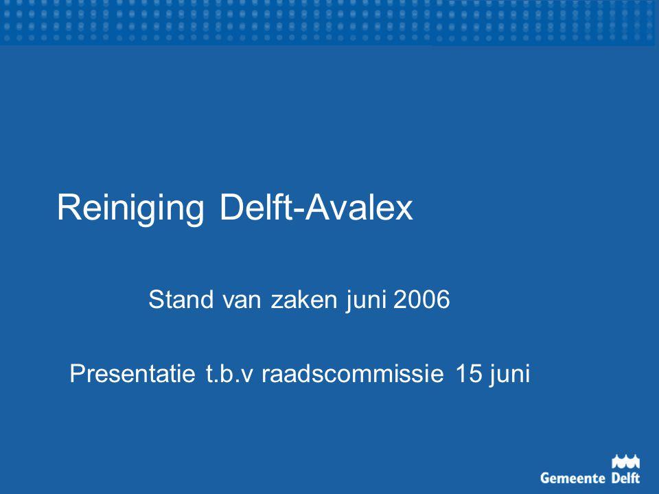 Reiniging Delft-Avalex