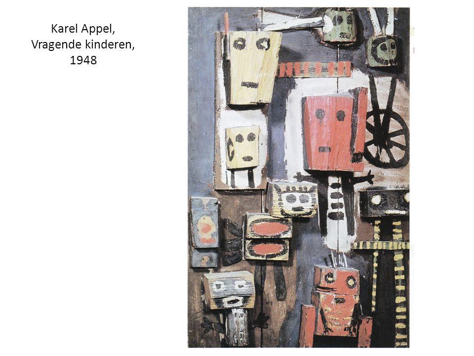 Karel Appel, Vragende kinderen, 1948