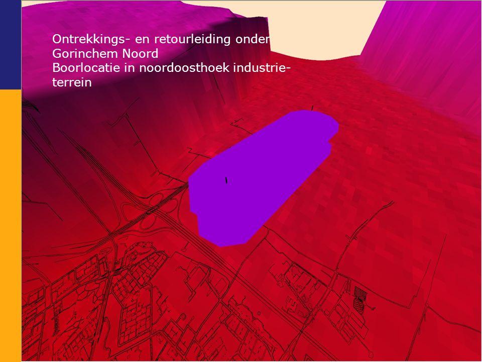 Ontrekkings- en retourleiding onder Gorinchem Noord