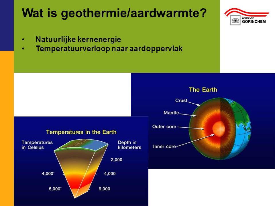 Wat is geothermie/aardwarmte