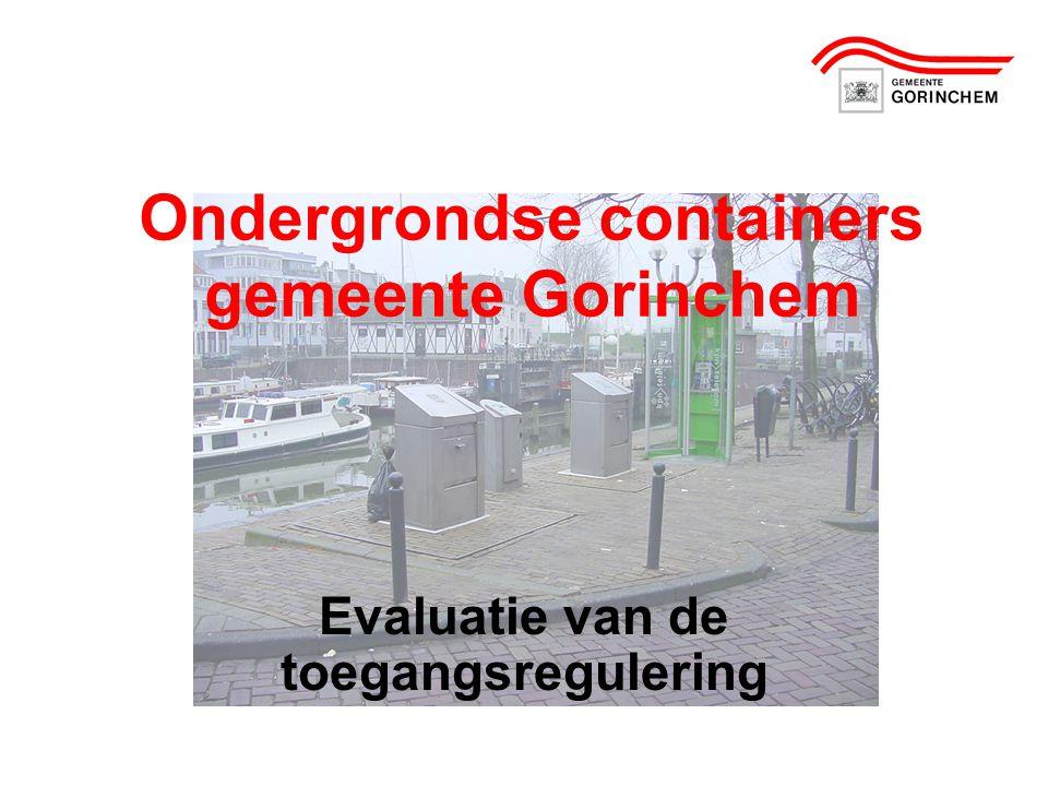 Ondergrondse containers gemeente Gorinchem