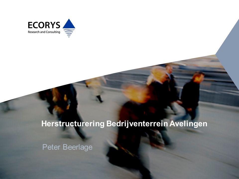 Herstructurering Bedrijventerrein Avelingen
