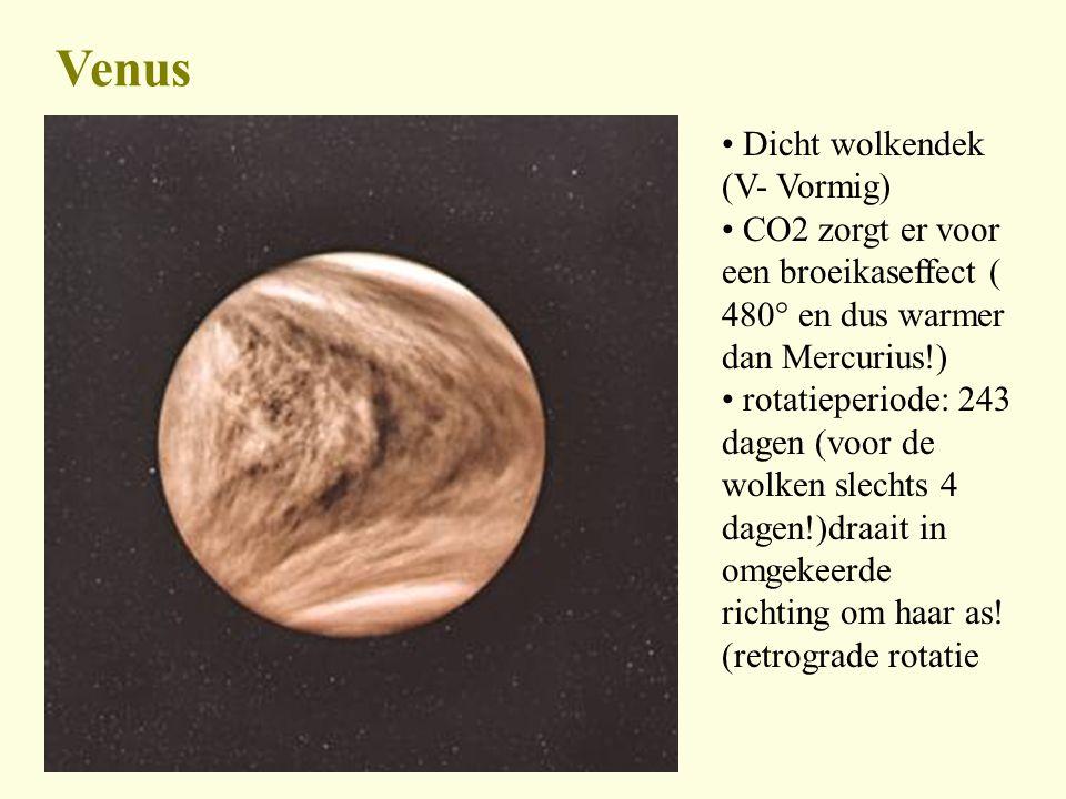Venus Dicht wolkendek (V- Vormig)