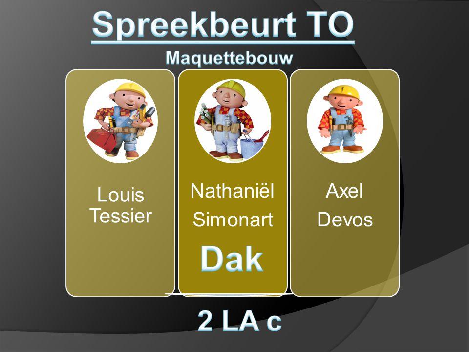 Spreekbeurt TO Dak 2 LA c Maquettebouw Louis Tessier Simonart