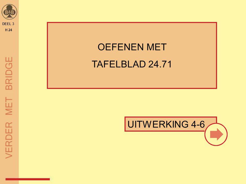 DEEL 3 H 24 OEFENEN MET TAFELBLAD 24.71 UITWERKING 4-6