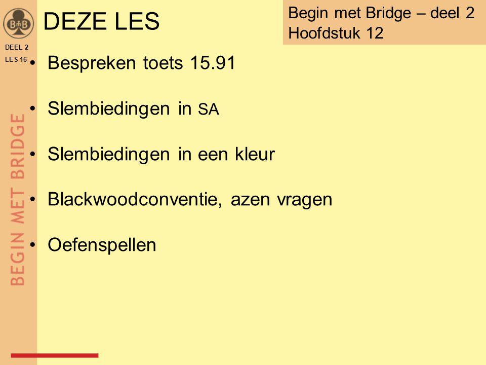 DEZE LES Bespreken toets 15.91 Slembiedingen in SA