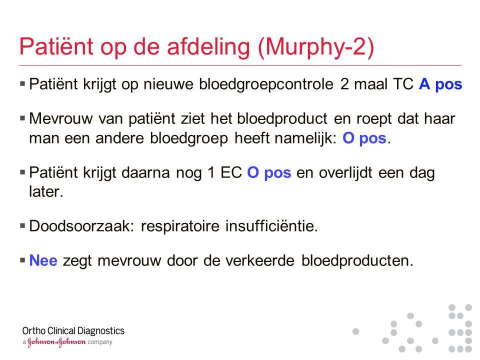 Patiënt op de afdeling (Murphy-2)