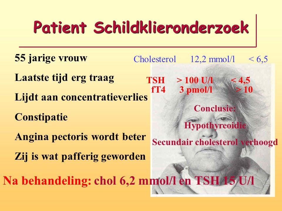 Patient Schildklieronderzoek