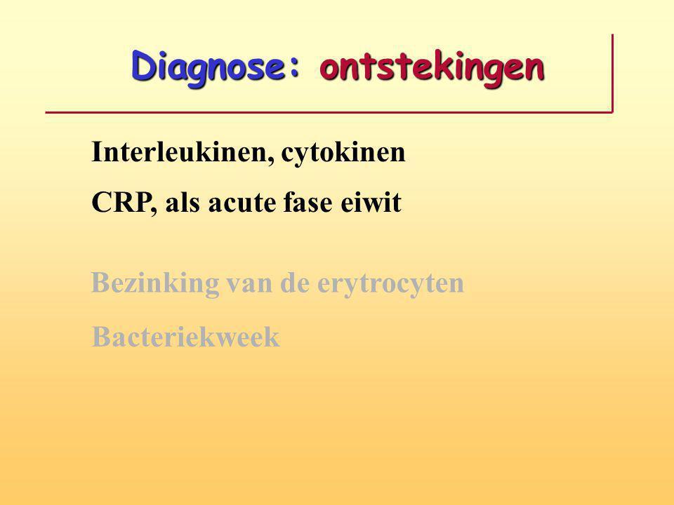 Diagnose: ontstekingen