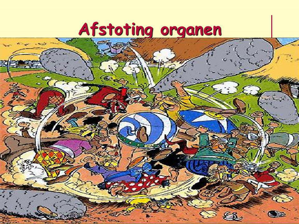 Afstoting organen