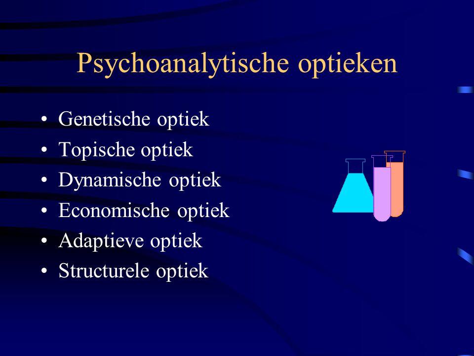 Psychoanalytische optieken