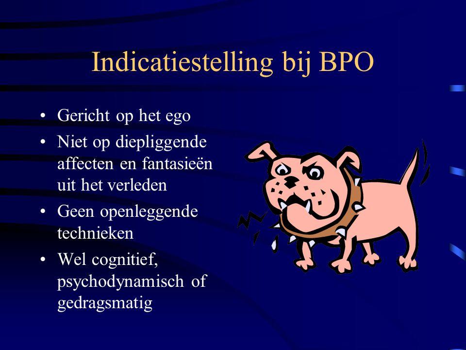 Indicatiestelling bij BPO
