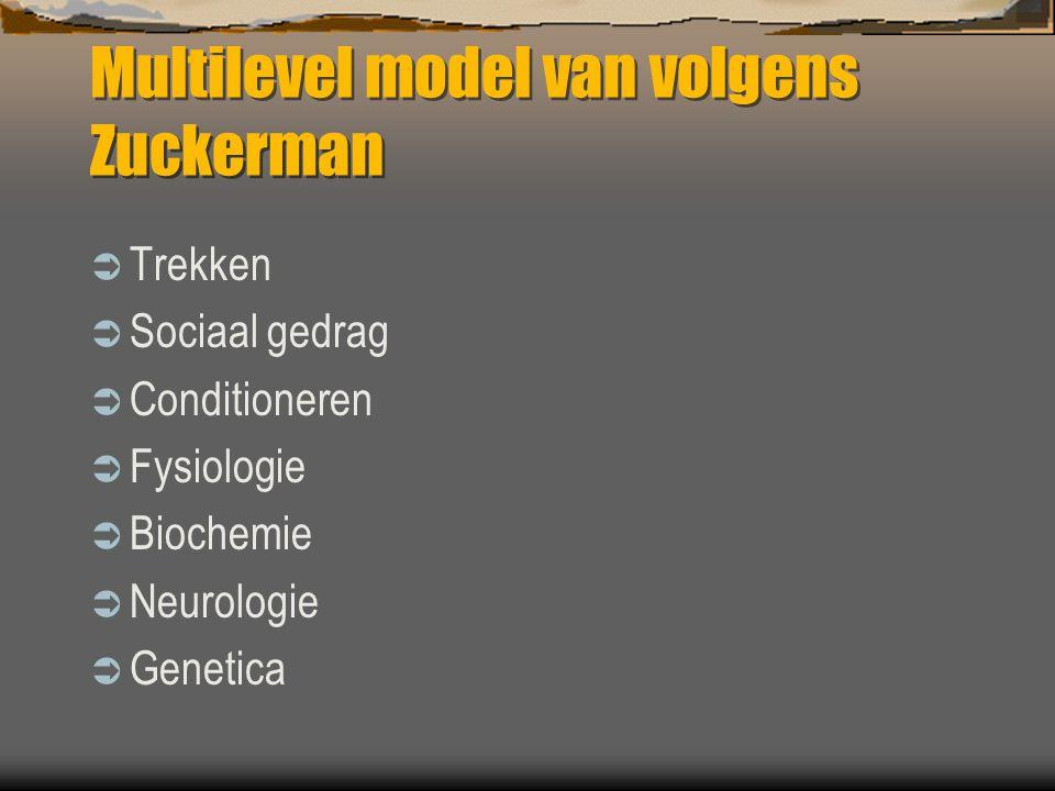 Multilevel model van volgens Zuckerman