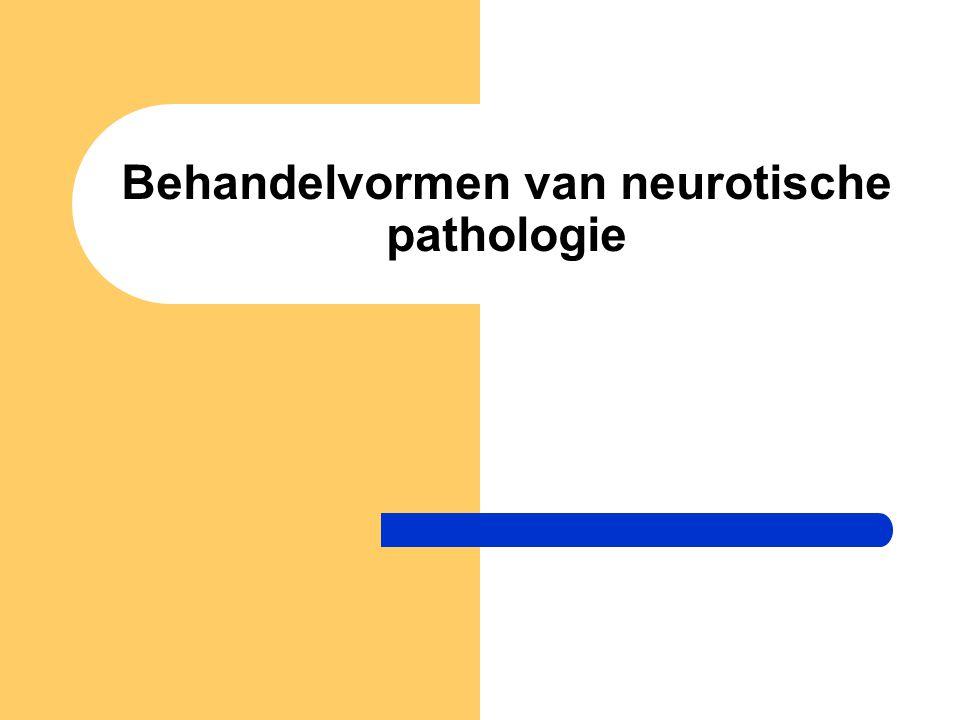Behandelvormen van neurotische pathologie
