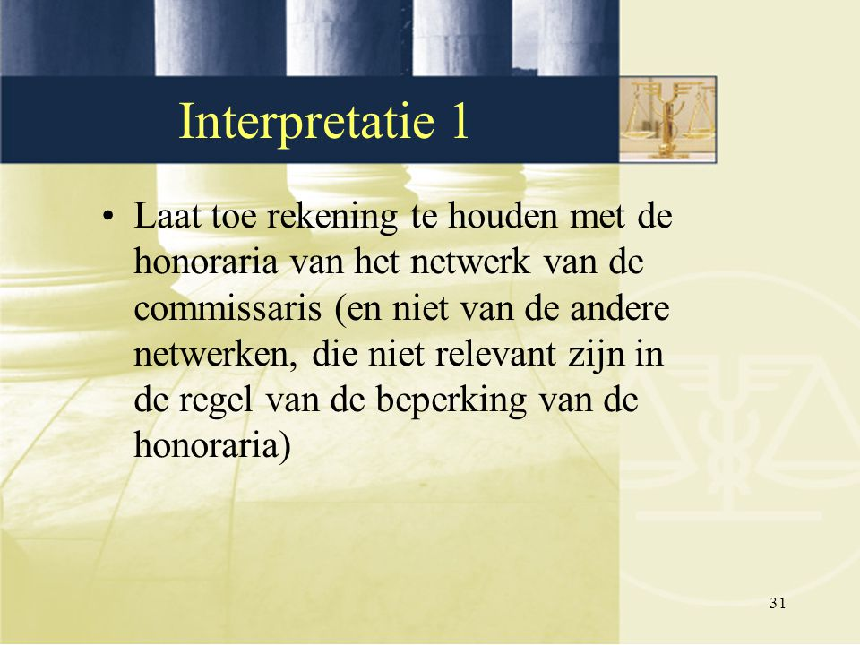 Interpretatie 1
