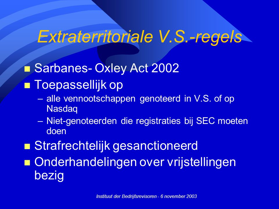 Extraterritoriale V.S.-regels