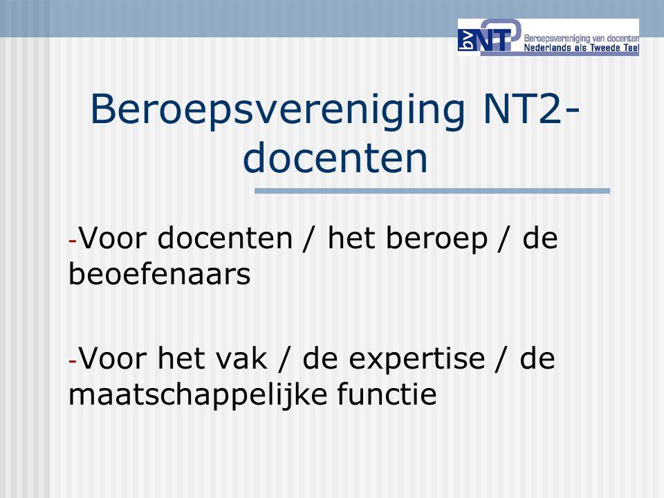 Beroepsvereniging NT2-docenten