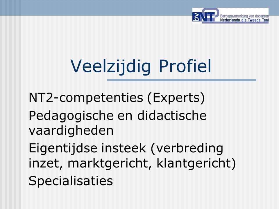 Veelzijdig Profiel NT2-competenties (Experts)