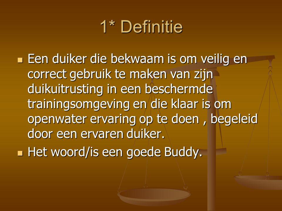 1* Definitie