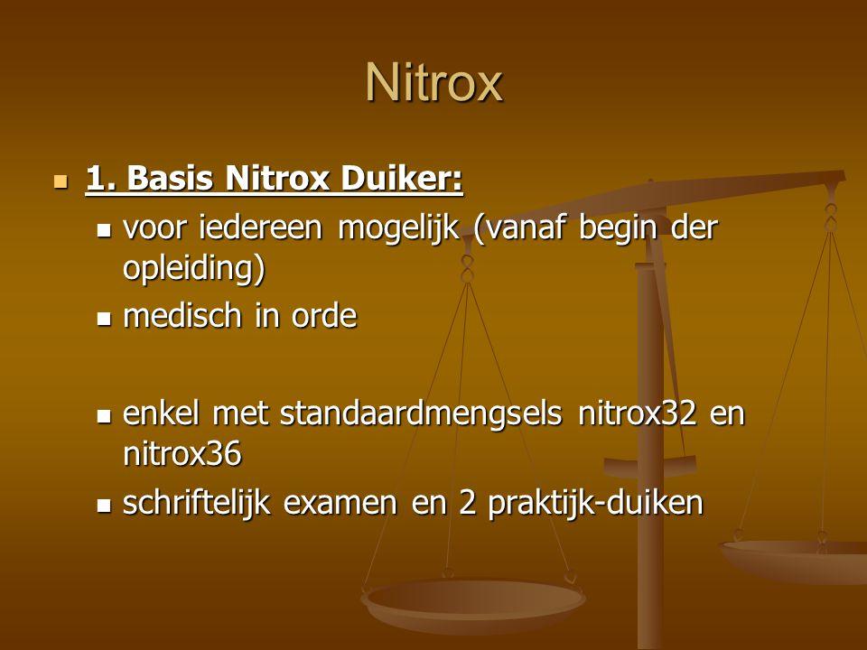 Nitrox 1. Basis Nitrox Duiker: