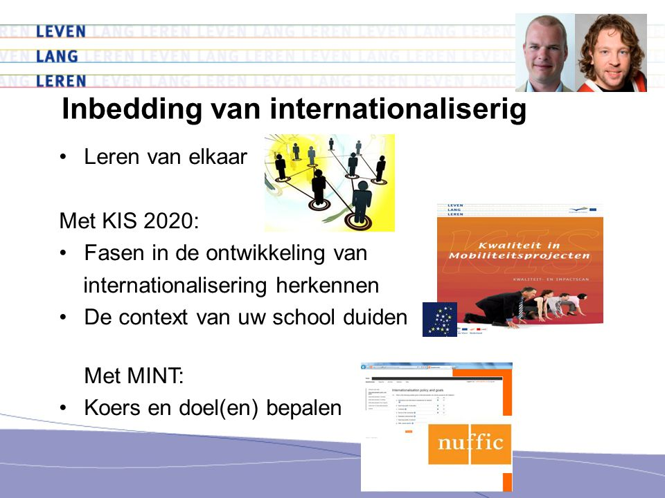 Inbedding van internationaliserig