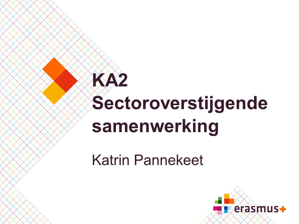 KA2 Sectoroverstijgende samenwerking