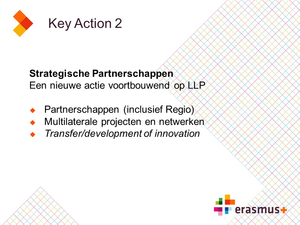 Key Action 2 Strategische Partnerschappen