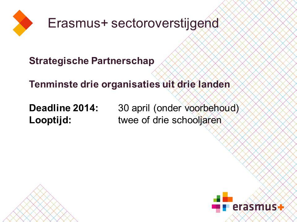 Erasmus+ sectoroverstijgend