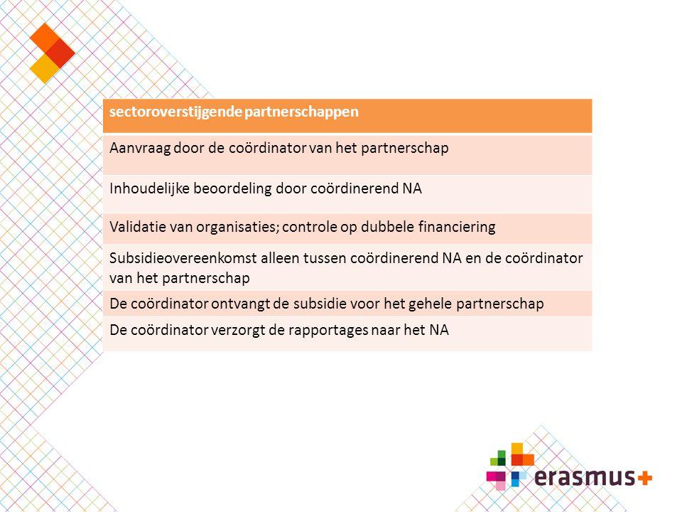 sectoroverstijgende partnerschappen
