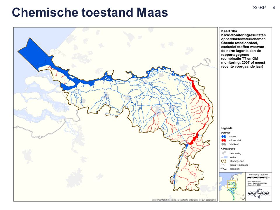 Chemische toestand Maas