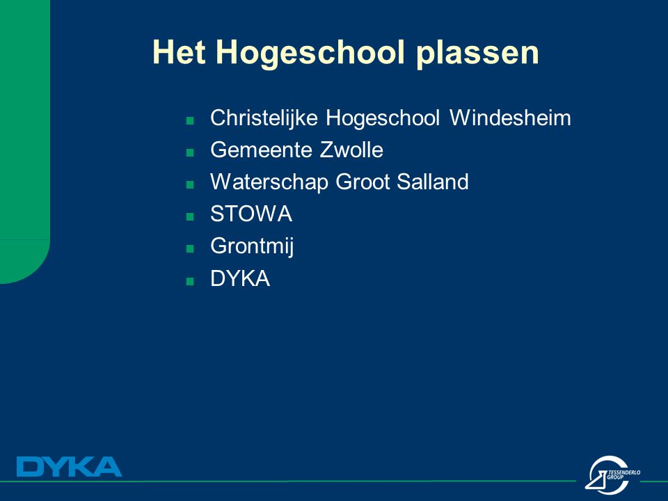 Het Hogeschool plassen