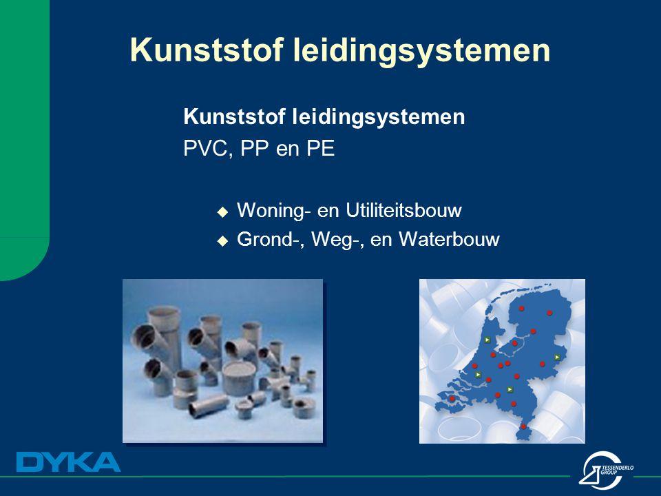 Kunststof leidingsystemen