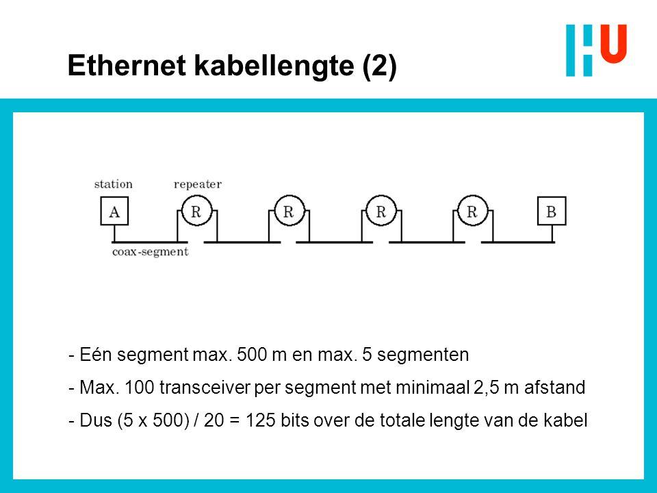 Ethernet kabellengte (2)