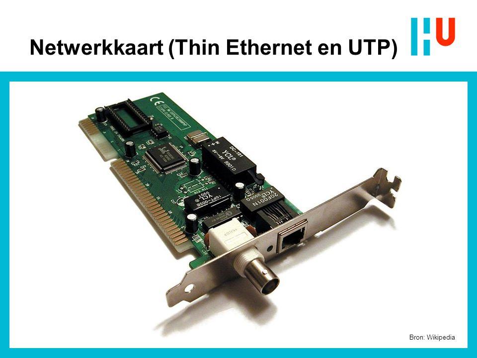 Netwerkkaart (Thin Ethernet en UTP)