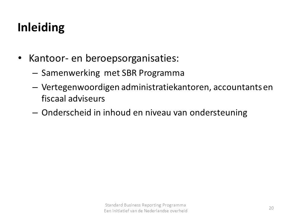 Inleiding Kantoor- en beroepsorganisaties: