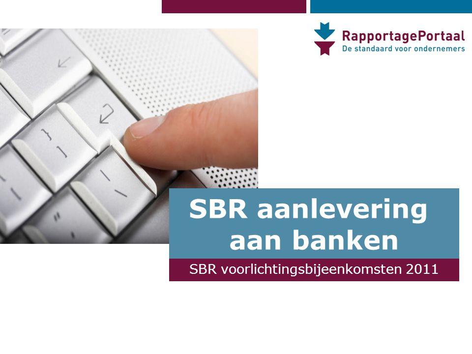 SBR aanlevering aan banken