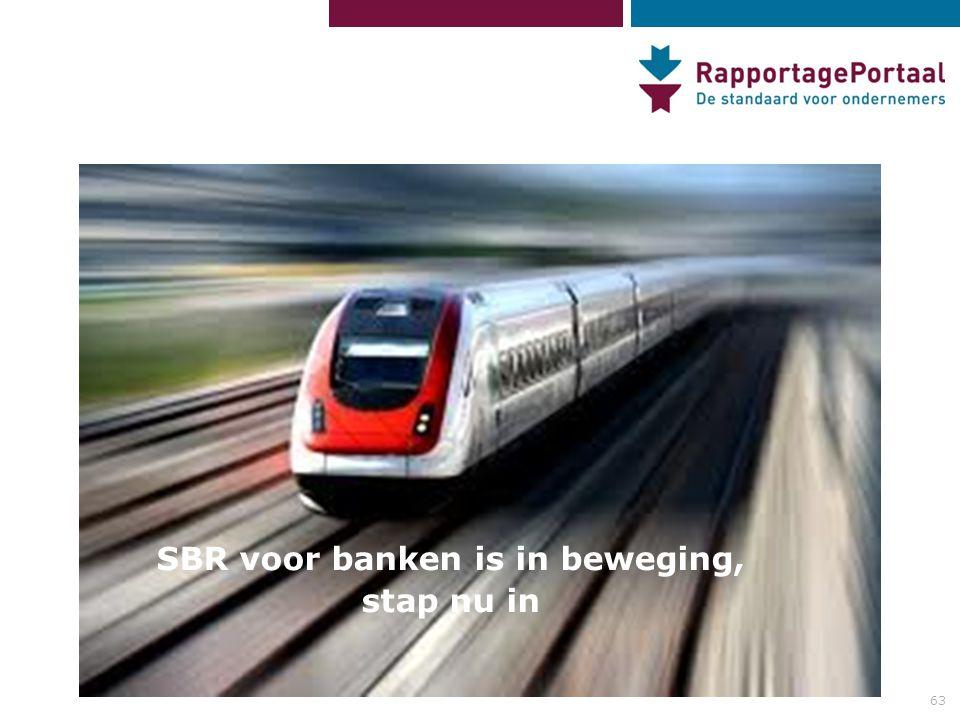 SBR voor banken is in beweging,