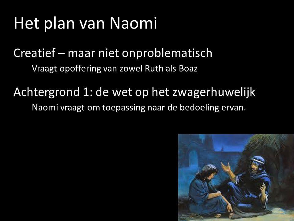 Het plan van Naomi Creatief – maar niet onproblematisch