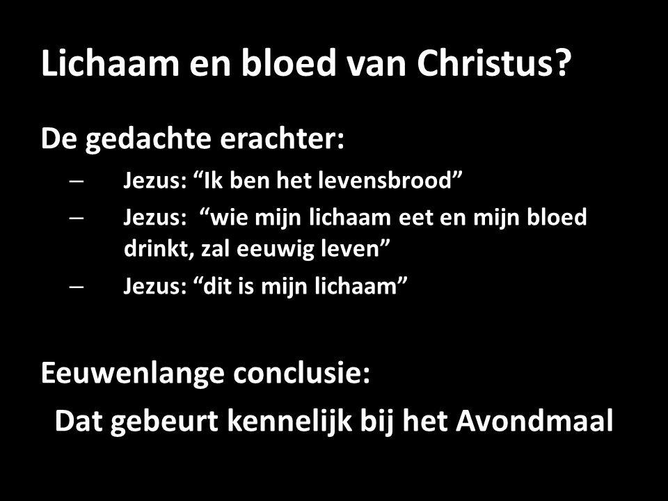 Lichaam en bloed van Christus