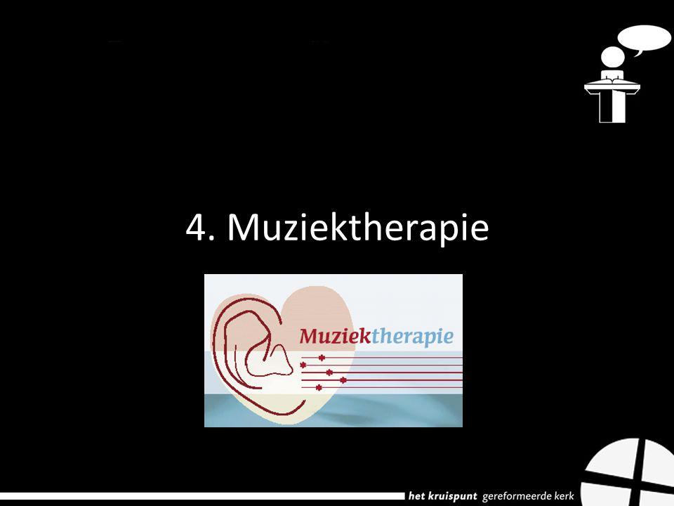 4. Muziektherapie