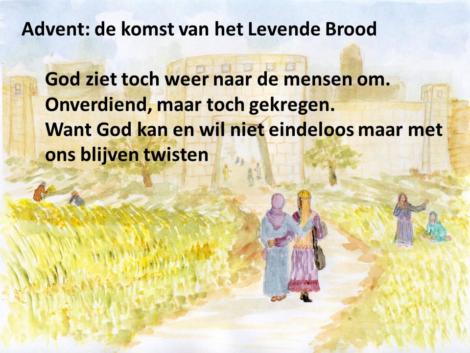 Advent: de komst van het Levende Brood