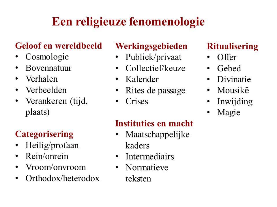 Een religieuze fenomenologie