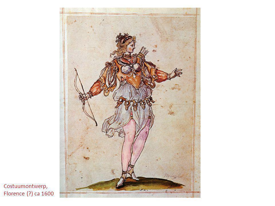 Costuumontwerp, Florence ( ) ca 1600