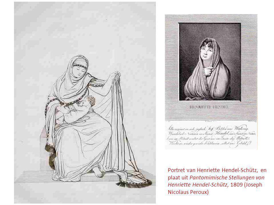 Portret van Henriette Hendel-Schütz, en