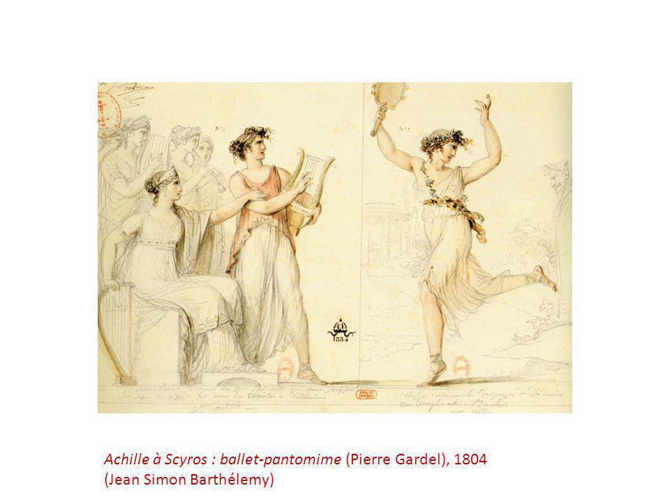 Achille à Scyros : ballet-pantomime (Pierre Gardel), 1804