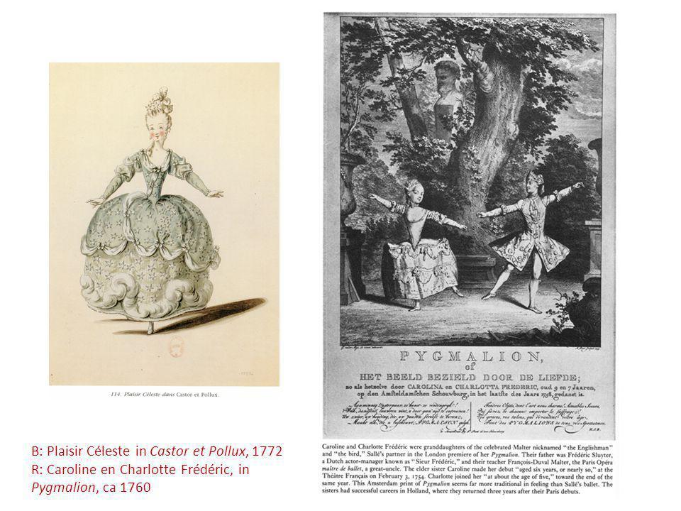 B: Plaisir Céleste in Castor et Pollux, 1772