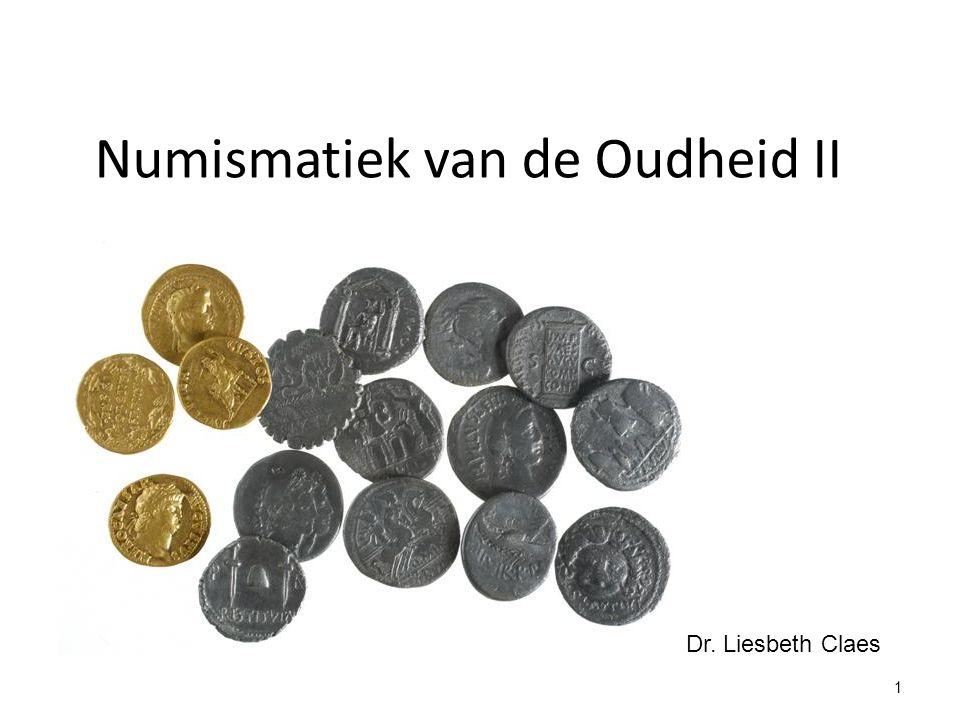 Numismatiek van de Oudheid II